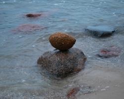 Här är stenen