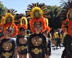 Den vackra staden Los Llanos de Aridane, bjuder på festival