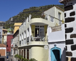 Det här var nog mitt favorithus. Den balkongen!