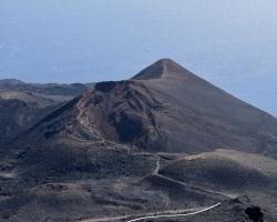 Senaste vulkanutbrottet var här, 1971. Volcán Teneguia, 427 m
