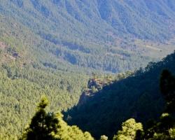 Här ligger den 8 km långa ravinen i området
