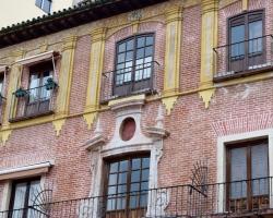 Det finns massor med vackra hus i Malagas gamla delar.