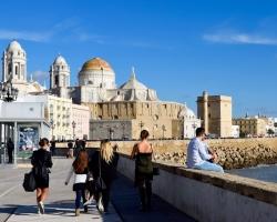 Så kommer vi till Cadiz, Spaniens äldsta stad.