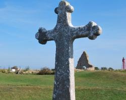 Kors, förmodligen över St Bridgid