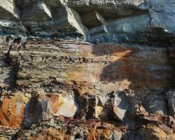 Ett mecca för geologen. Lager på lager