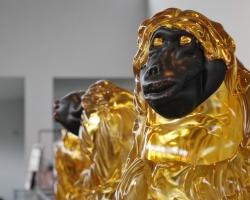 Markus Lövgrens apor i glas