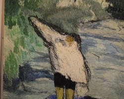 Hans Berger ser vi på Musée Garnet