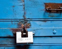 Gammal låsning
