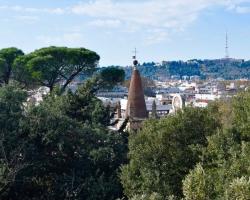 Utsikt från Borgheseparken