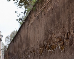En vacker mur