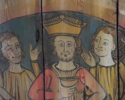 Jesus, hans sista måltid genom svensk 1200-talskonstnärs ögon