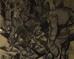 Judiska muséet: Teckningar gjorda av grekisk fånge i Auschwitz